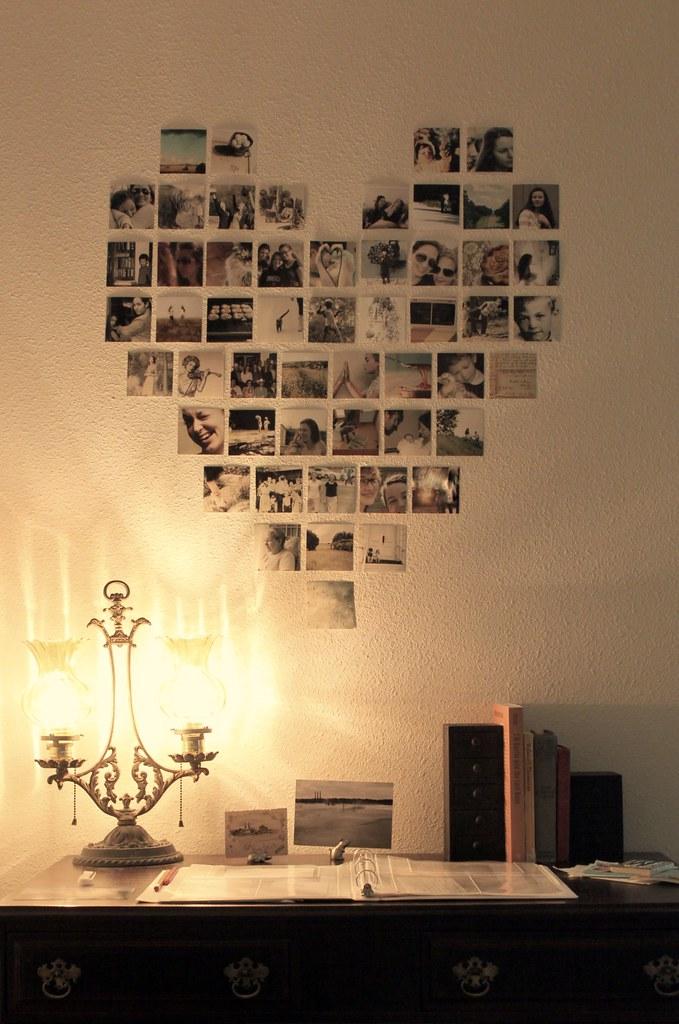 Коллаж из фото на стену своими руками
