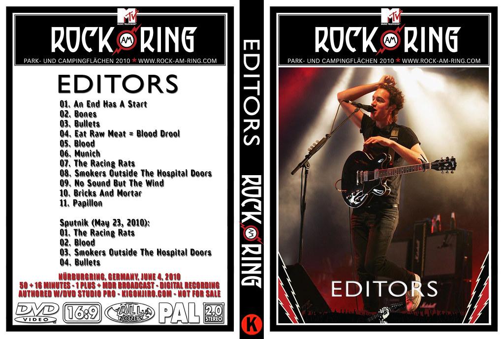 Resultado de imagen para Editors - Rock am Ring (2010)