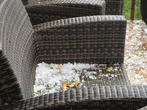 Hail in Hoover! | by abc3340weather