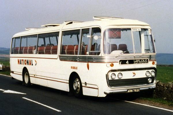 Ribble Motor Services Ltd Plaxton Panorama Leyland Leopard ...