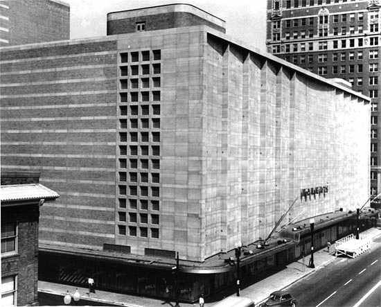 Foley S Department Store Houston Tx Built With 6 Floors