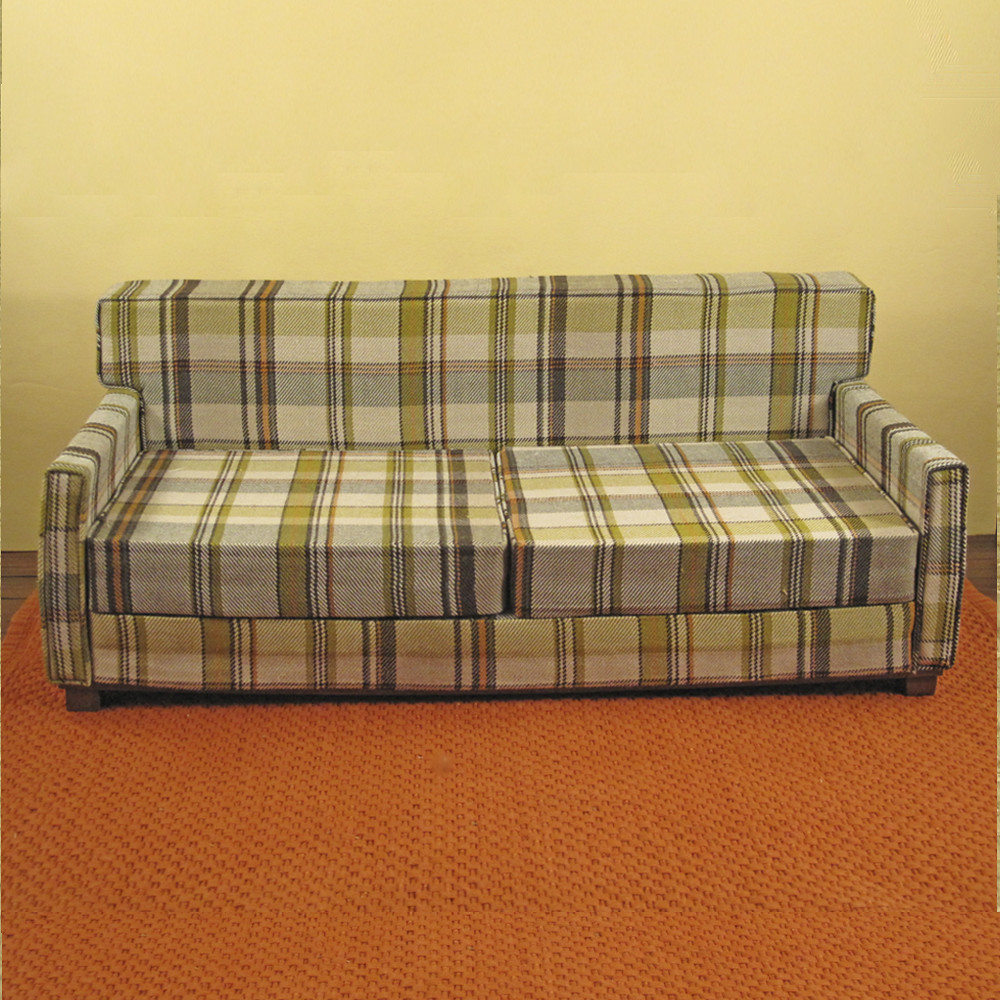 bachelor plaid lounger sofa blogged here flickr. Black Bedroom Furniture Sets. Home Design Ideas