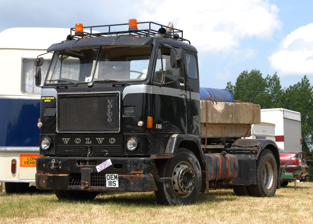 Volvo F88 Oem111s Looking Like A Relic From One Of The