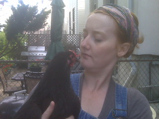 Backyard chicken keeper Megan Paska | by WNPR - Connecticut Public Radio
