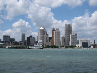 Detroit skyline | by Bernt Rostad