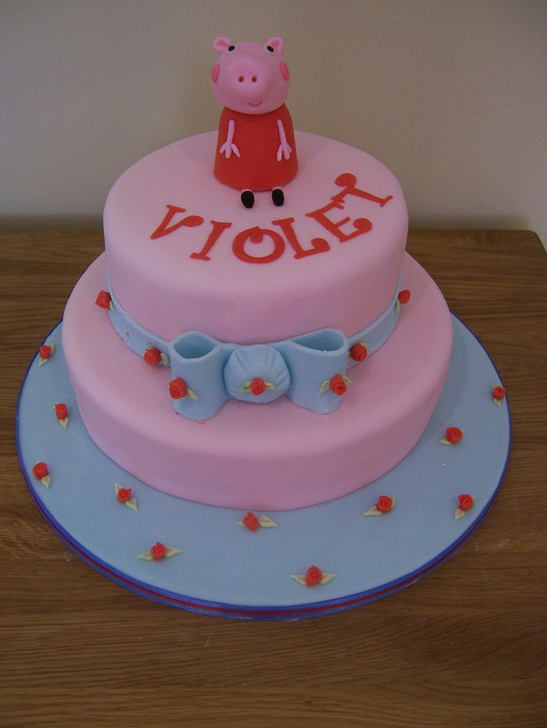 Peppa Pig Birthday Cake Cath Kidston Style This Was My L Flickr