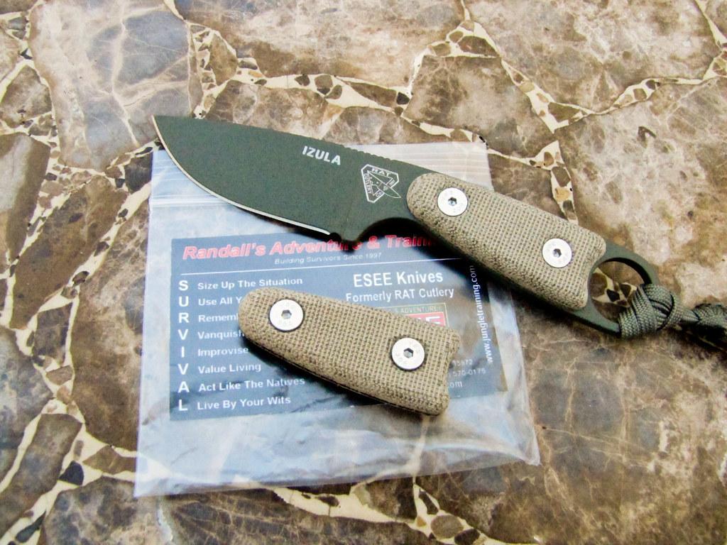 Rat Knives Izula Esee Rat Cutlery Izula