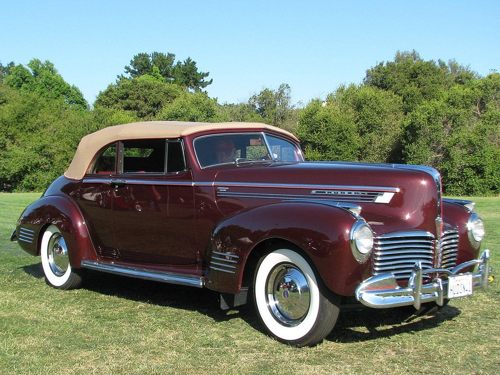 1941 Hudson Commodore 8 Convertible | Photographed at the ...