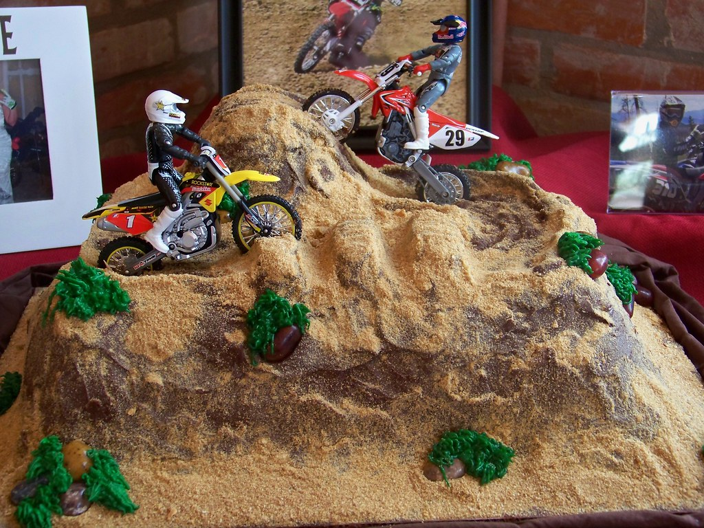 Dirt Bike Cake Lauren Fontenot Flickr