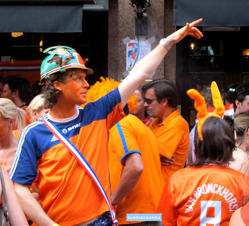 Holland football fans, London | by adrian, acediscovery