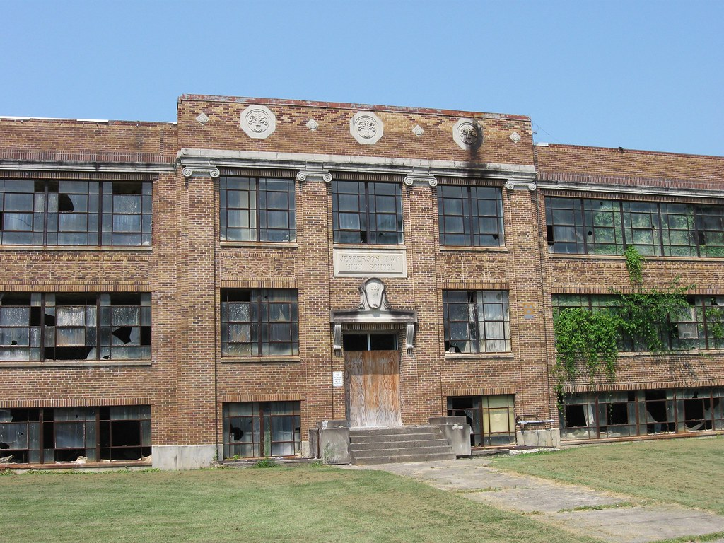 Abandoned Old Jefferson Township High School This