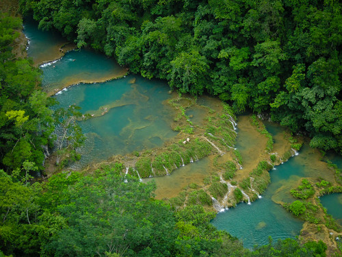 Around Coban 27 - Semuc Champey from above | by Ben Beiske