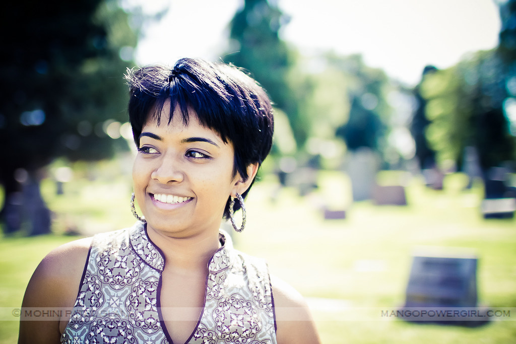 divya in the cemetery