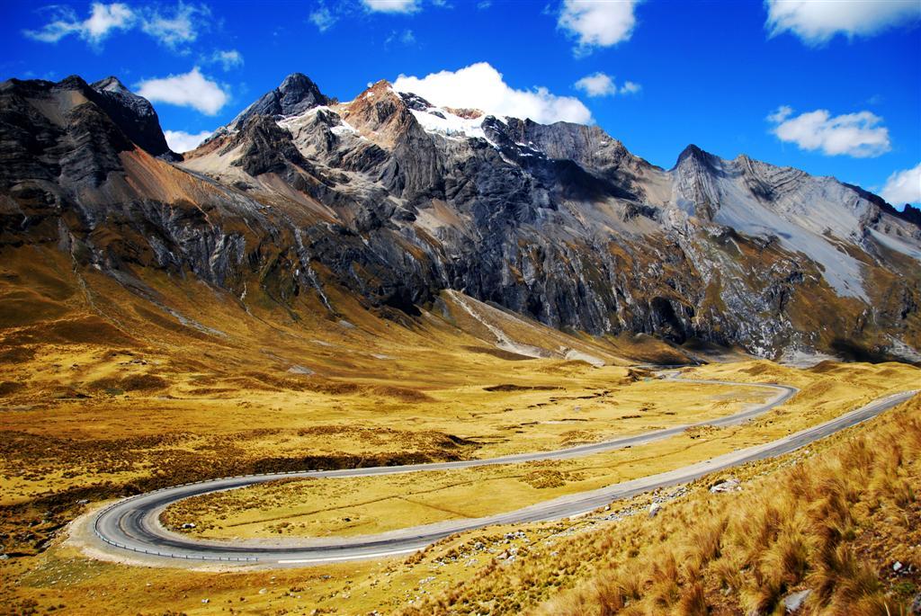 Cordillera De Los Andes Per 250 Viaje En Bicicleta Por