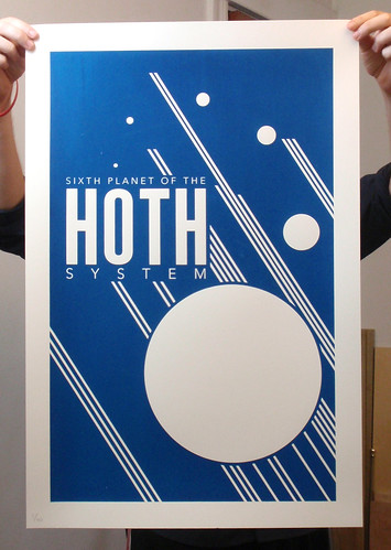 Hoth -Screen Print | by justinvg