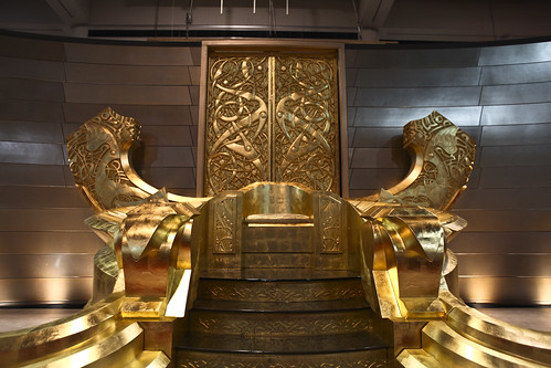Marvel Booth SDCC 2010: Odin's Throne! | by Marvel Entertainment
