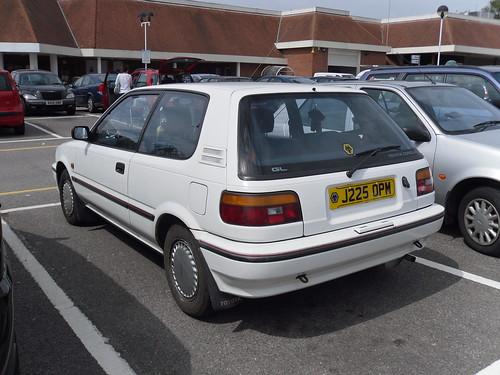 1991 Toyota Corolla 1 3 Gl Hatchback Sam Osbon Flickr