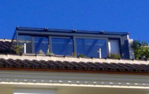 Cerramiento de terraza cerramiento de terraza en tico for Cristaleria benissa