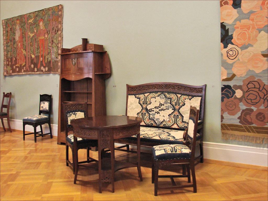 l 39 art nouveau scandinave au kunstindustrimuseet oslo flickr. Black Bedroom Furniture Sets. Home Design Ideas