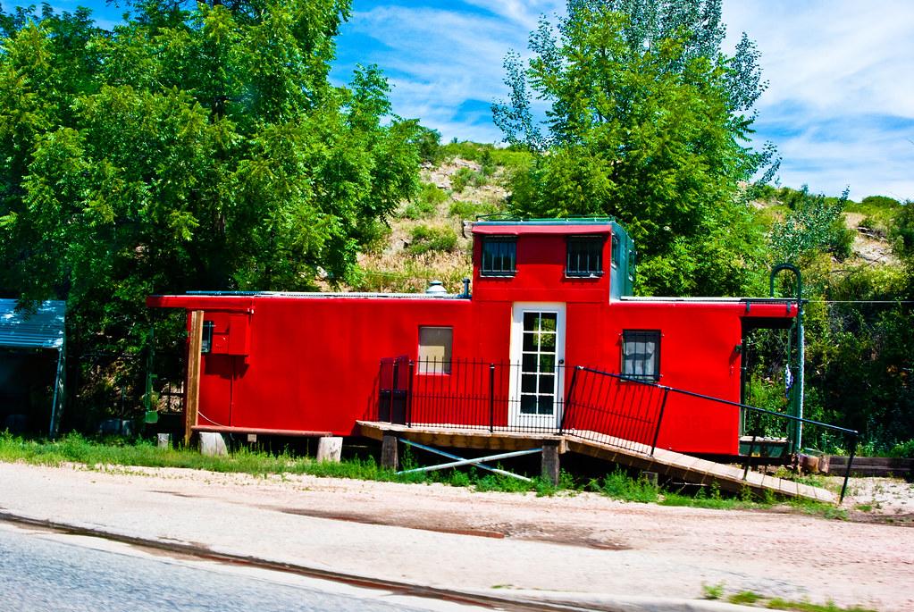 Train Car Home - Lyons, Colorado - USA | A most unusual home… | Flickr