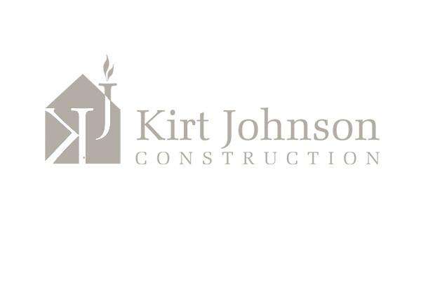 Kirt Johnson Construction Logo (Horizontal Orientation ...