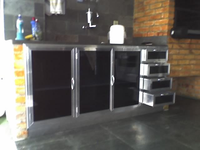 #474355 Armário fechamento de pia em aluminio e vidro.Armário fec…Flickr 640x480 px Armario De Cozinha Em Aluminio #2973 imagens