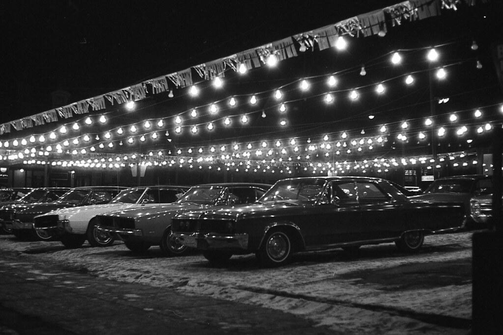 used car lot toronto ontario 1970 used car lot jarvis flickr. Black Bedroom Furniture Sets. Home Design Ideas