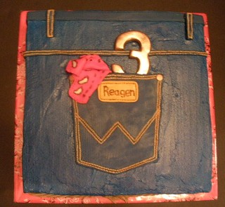Reagen s Blue Jean Cake Buttcream frosting is tinted ...