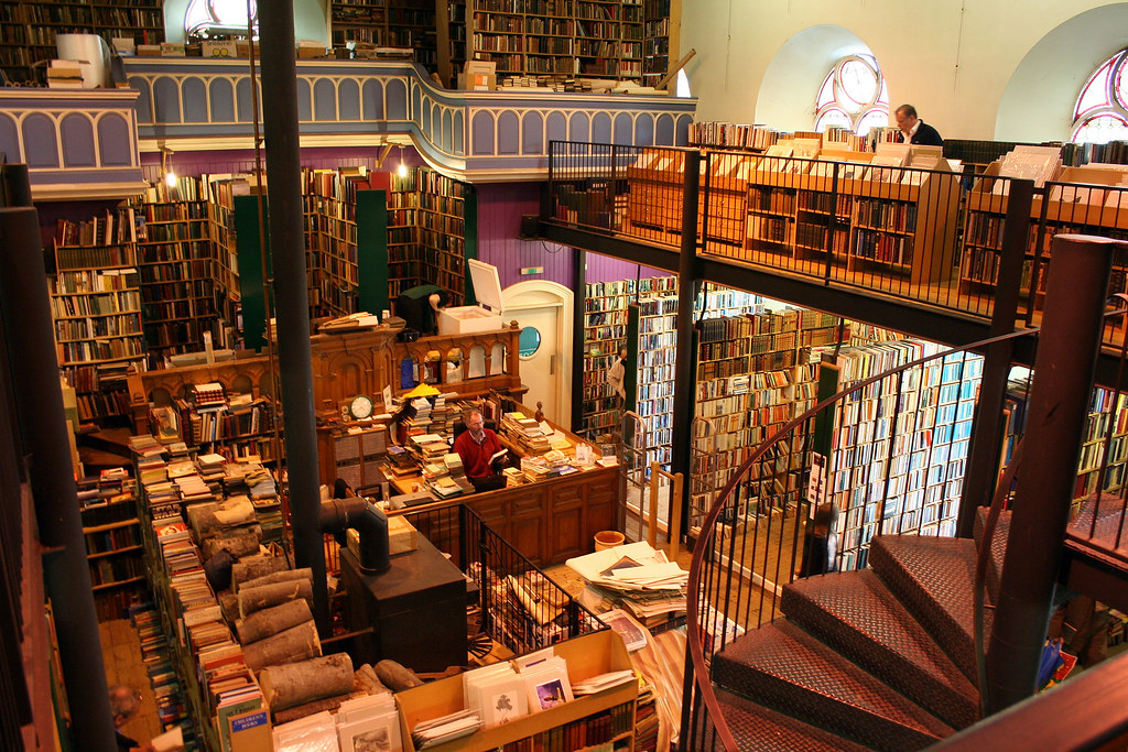 Leakey's Bookshop | The largest second hand bookshop in ...