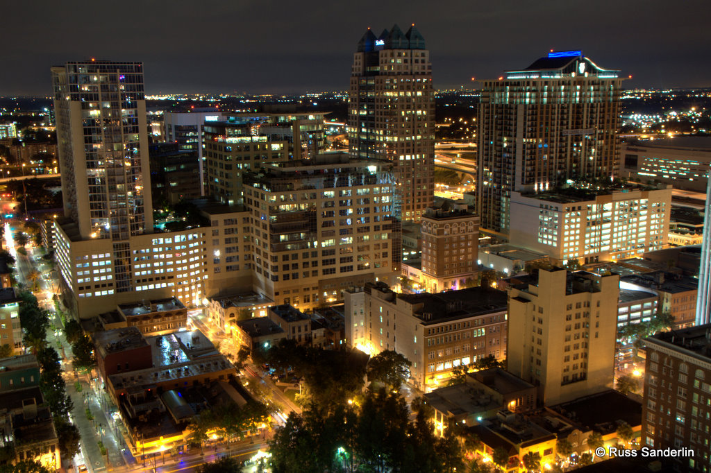 Downtown Orlando | Overlooking downtown, is a great view ...