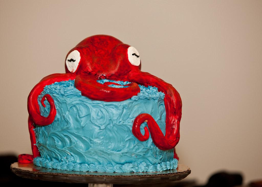 Octopus Cake Pan