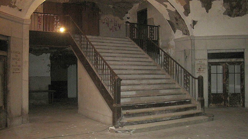 Buffalo Central Terminal Grand Staircase One Of The
