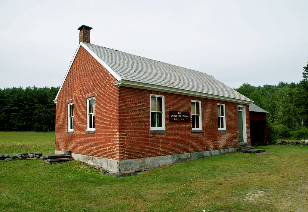 Little Red Schoolhouse one room school