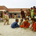 Pakistan floods: Children playing in a relief camp