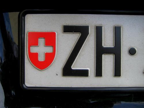 plaque d 39 immatriculation suisse swiss license plate flickr. Black Bedroom Furniture Sets. Home Design Ideas