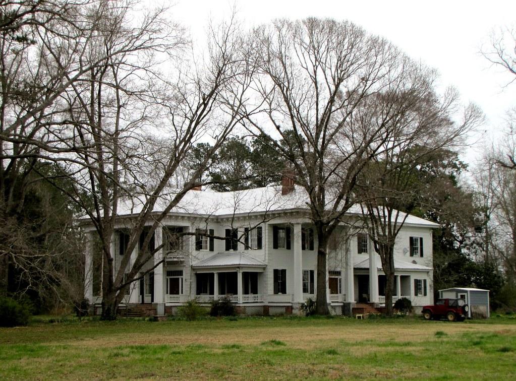 Tait Starr Home Or White Columns Located Near Camden Al