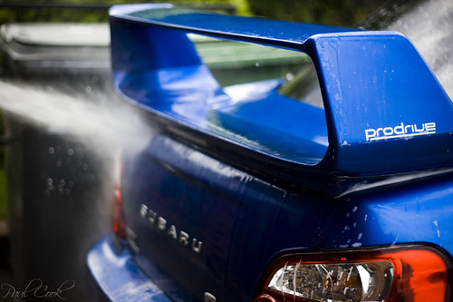 Pressure washing the impreza | by Cook24v