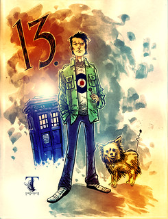 The 13th Doctor | by Ben Templesmith