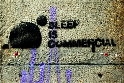 SLEEP IS COMMERCIAL | by alias URBAN ARTefakte