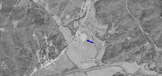 M & T Drive-In aerial photo 1956 | by OzonerGPS