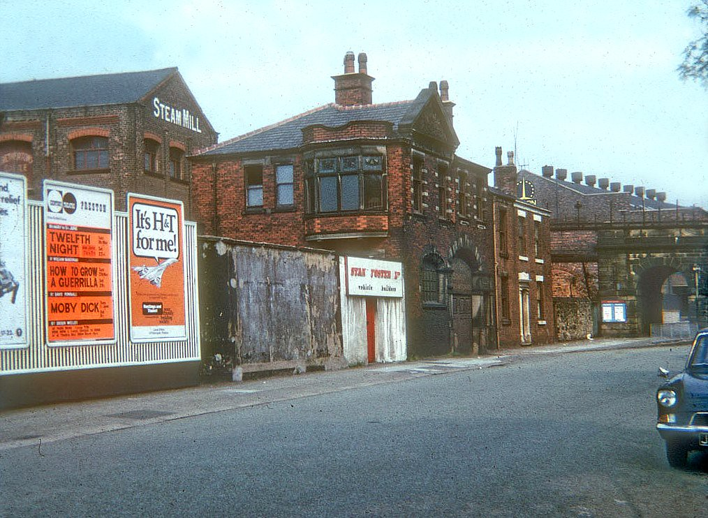 Steam Mill Fylde Road Preston C 1970 Since This Image