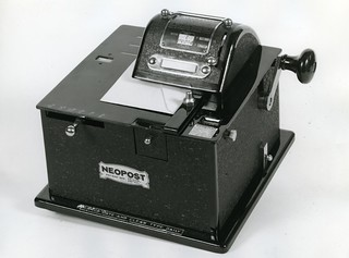 Neopost multi-value franking machine | by The Postal Museum