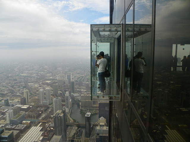 Chicago Willis Tower SKydeck , Glass Balcony | Flickr ...