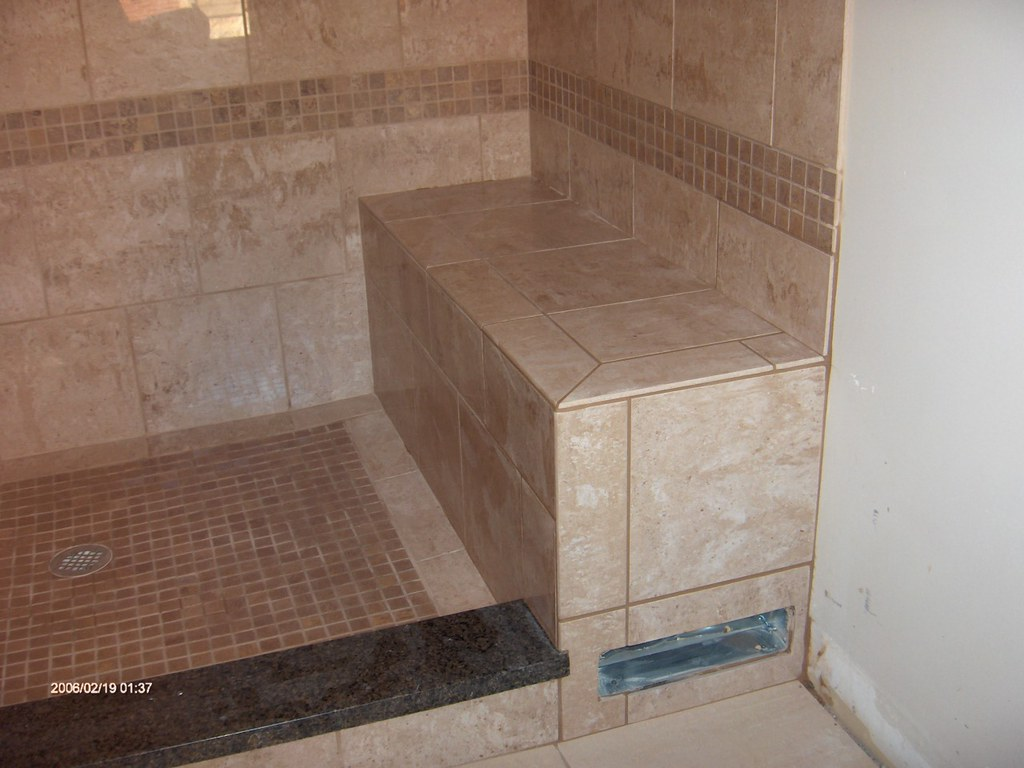 Custom Shower Pan The Tile Guys Inc Flickr