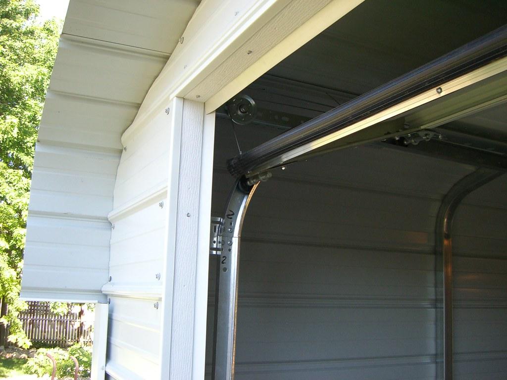 Door Trim Garage Door Trim With Weather Strip And