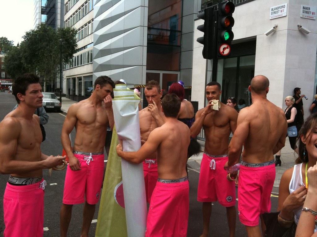 Gay  Guys Jerk Off In Car