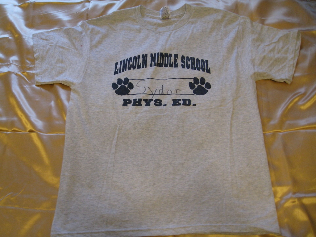 Lincoln Middle School-Shirt-Lions-Park Ridge,IL | Gym ...