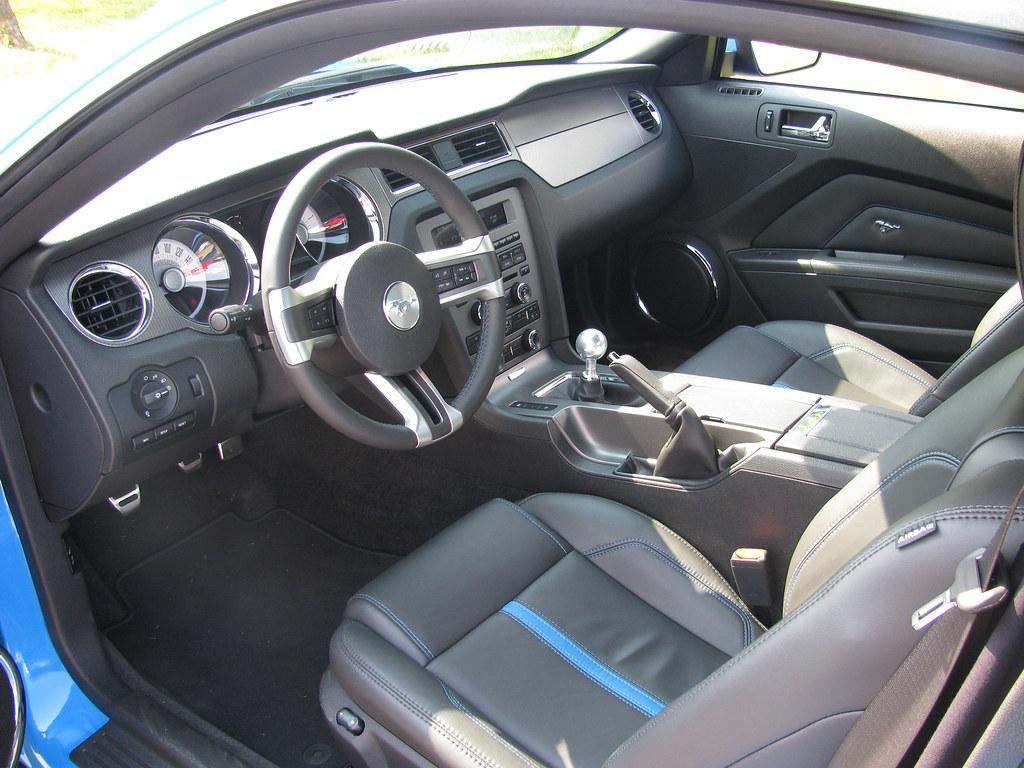 ... 2011 Mustang GT 5.0 Interior Grabber Blue | By Boss Mustang