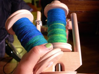 First Full Bobbins of the Tour | by Velma's World