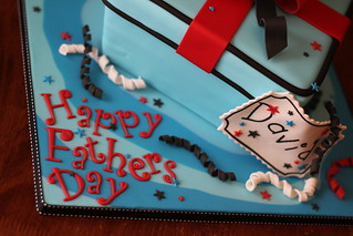 Finished Demo cake/Father's Day cake | by Andrea's SweetCakes